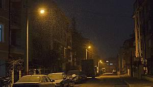 Karaman'da kar kalınlığı 17 santim, en düşük sıcaklık -12 oldu