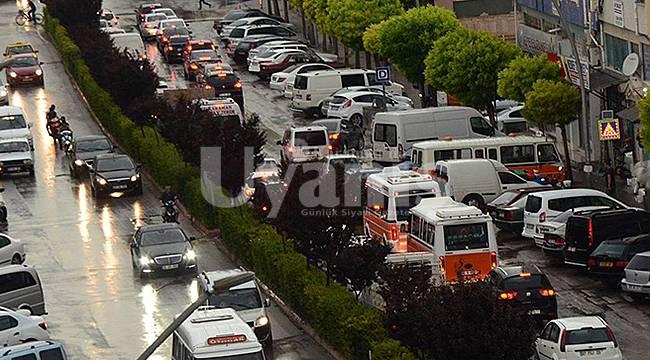 Karaman'da taşıt sayısı bir yılda 2 bin 92 adet arttı