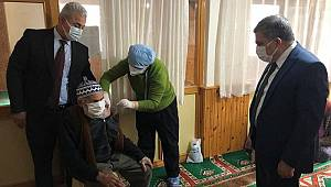 Karaman Valisi Işık köy ziyaretlerinde bulundu