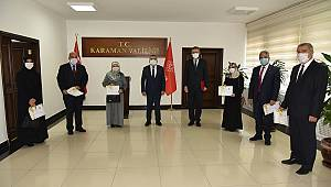 Müftülük Personeli Başarı Belgesi ile ödüllendirildi