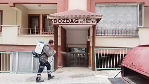 Ermenek Belediyesi, Karantina Sürecini İlçeyi Dezenfekte Ederek Değerlendiriyor