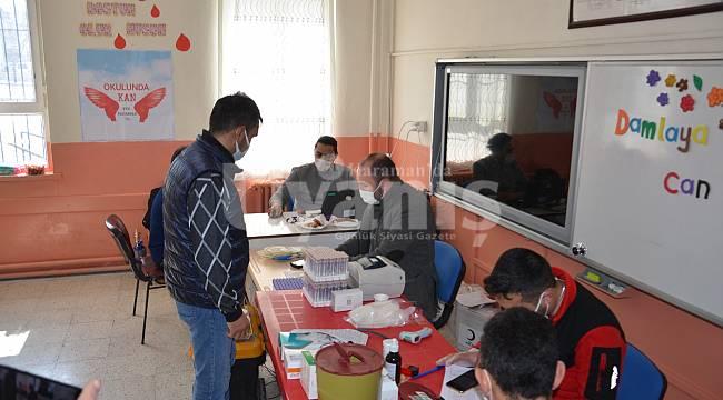 Karaman'da İsmet İnönü İlkokulu kan bağışına destek verdi