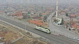 Konya Karaman Hızlı Tren Hattı test sürüşleri 15 Mart'a kadar devam edecek