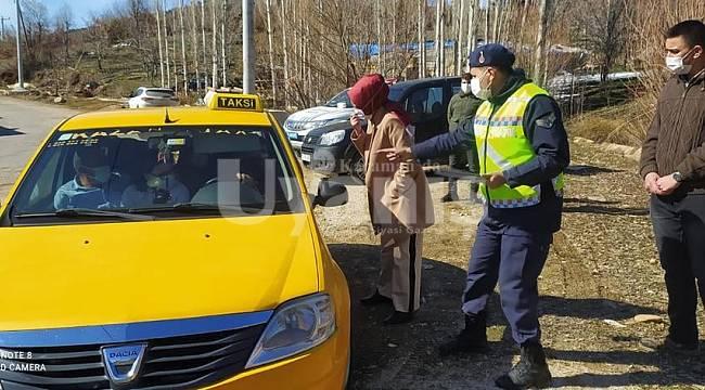 Sarıveliler'de Hafta Sonu Denetimine Kaymakam Efe'de Katıldı