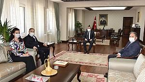BM Mülteciler Yüksek Komiserliği Bölüm Başkanı Atlı'dan Vali Işık'a Ziyaret