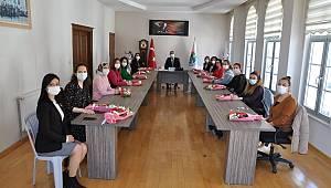 Ermenek Belediye Başkanı Zorlu, Kadın Personel ve Meclis Üyeleriyle Bir araya Geldi