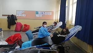 Karaman İmaret ortaokulu kan bağışına destek verdi