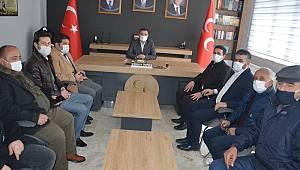KTSO yönetiminden siyasi partilere ziyaret