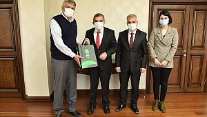 Yeşilay Şube Başkanı Duru'dan Vali Işık'a Ziyaret