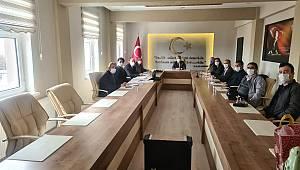 1.Dönem Değerlendirme Toplantısı Kazımkarabekir İlçesinde Yapıldı