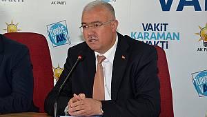 """AK Parti İl Başkanı Çağlayan: """"Karaman'a 97 milyonluk destek!"""""""
