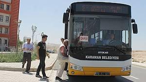 Belediye Otobüsleri İle 1 Ve 6 Nolu Dolmuş Hatları Yarın MSÜ Sınavı İçin Çalışacak