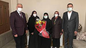 Cumhur İttifakı Başkanlarının Şehit Ailelerini Ziyaretleri Sürüyor