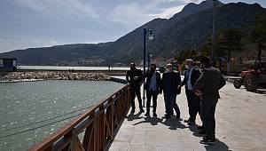 Ermenek Belediye Başkanı Zorlu, Eğirdir Ve Beyşehir İlçelerini Ziyaret Etti