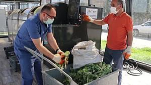 Hastanenin Atık Sebze Ve Meyveleri Gübreye Dönüşüyor