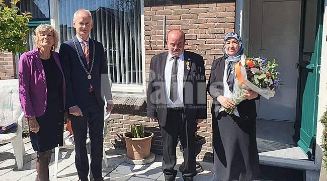 Hollanda Devleti'nden Karamanlı Selahattin Asal'a Kraliyet Madalyası