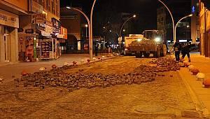 İsmet Paşa Caddesi yenileniyor