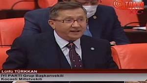 İYİ Parti TBMM Grup Başkan Vekili Türkkan: Teşvikler Konusunda Karaman'a Ayrımcılık Yapılıyor