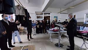Kale İlkokulunda Askıda Kıyafet ve Gıda Paylaşım Noktası