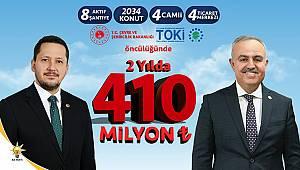 Karaman'da 2034 adet konut yapıldı