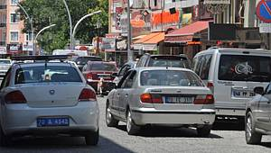 Karaman'da Motorlu Kara Taşıt Sayısı Bir Yılda 2 bin 80 Adet Arttı