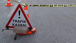 Karaman'da motosiklet takla attı: 1 ölü