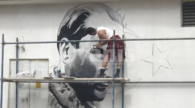 Karamanlı Ressam, Eskişehir'de Harikalar Yaratıyor