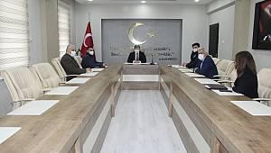 Kazımkarabekir'de Kadına Yönelik Şiddetle Mücadele Koordinasyon İzleme Ve Değerlendirme Toplantısı Yapıldı
