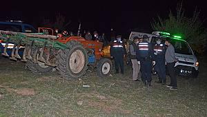 Morcalı Köyünde traktörün altında kalan çiftçi hayatını kaybetti