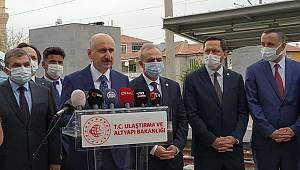 Ulaştırma Bakanı Karaismailoğlu: Karaman-Konya Hızlı Tren Hattını Haziran Ayında Yolcu Taşımacılığına Açıyoruz