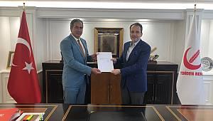 Yeniden Refah Partisi İl Başkanlığı Taşkıran atandı