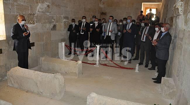 744. Türk Dil Bayramı, Ermenek'te Bu Yılda Salgın Nedeniyle Bir Şekilde Buruk Kutlandı