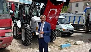 Ayrancı Belediyesine Yeni iş Makinası