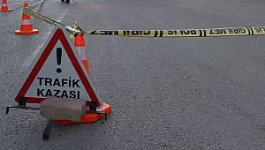 Ermenek'te kamyonet devrildi: 5 yaralı