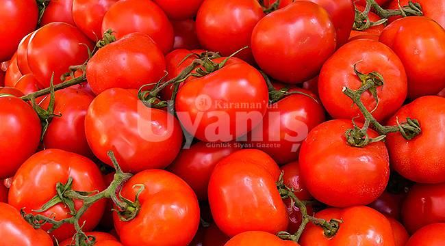 Karaman'da fiyatı en çok artan ürün Domates oldu