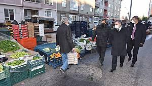 Karaman'da kısıtlamada kurularak pazar yerleri belli oldu