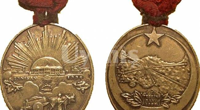 Karamanlı Kurtuluş Savaşı Gazisinin Mirasçısına İstiklal Madalyası Verilecek