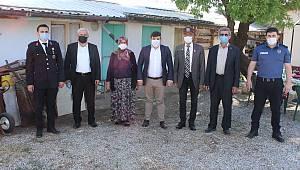 Kazımkarabekir Kaymakamı Çıkrık'tan Bayram Ziyaretleri