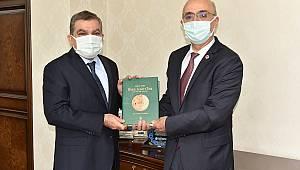 Türk Dil Kurumu Başkanı Gürsevin'den Vali Işık'a Ziyaret