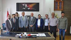 CHP Heyetinden Ermenek Belediye Başkanı Zorlu'ya Ziyaret