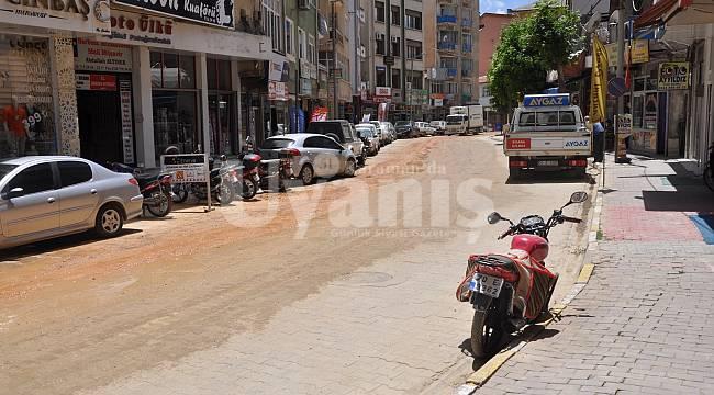 Ermenek'te Bozulan Ve Çöken Yollar Yenileniyor