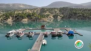 Ermenek'te Yüzer Havuz Hizmete Başlıyor