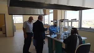 İl Sağlık Müdürü Kurşun, yeni ADSM'yi ziyaret etti