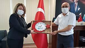 İŞKUR İl Müdürü Sarıkaya'ya hayırlı olsun ziyaretleri devam ediyor