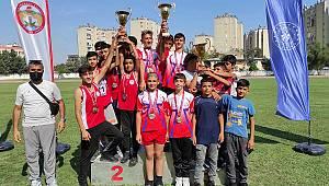 Karaman Atletizm Takımı Adana'da Zirvede