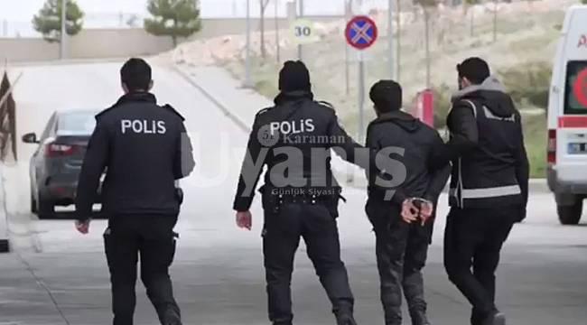 Karaman'da Polis'ten Uyuşturucu Tacirlerine Şafak Operasyonu