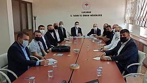 Karaman'da tarım alanlarında yüzde 70'e varan zarar oluştu