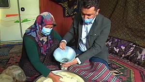 Karaman'ın meşhur Divle peyniri TRT Haber'i Ayrancı'ya Getirdi