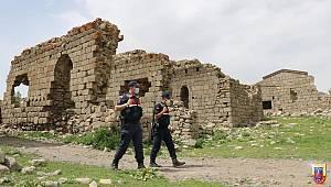 Karaman'da Tarihi Bölgelerin Güvenliği Jandarmaya Emanet