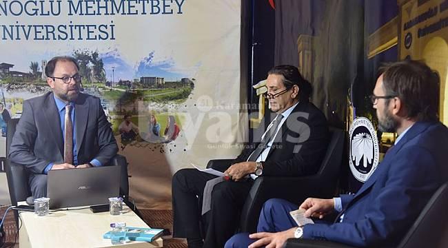 KMÜ'de şehir ve medeniyet tasavvuru konuşuldu